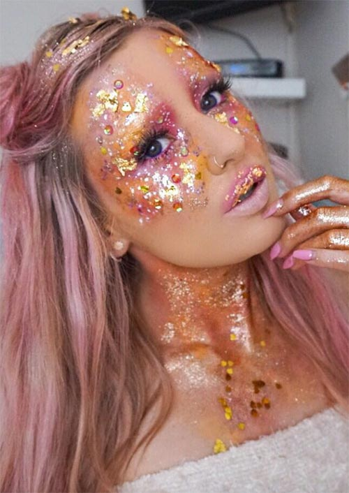 Halloween Makeup Ideas: Nymph Makeup for Halloween