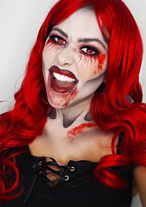 Halloween Makeup Ideas: Vampire Makeup for Halloween