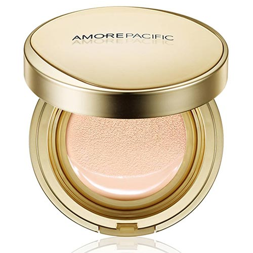 Best Cushion Foundations For Normal Skin: Amore Pacific Age Correcting Foundation Cushion