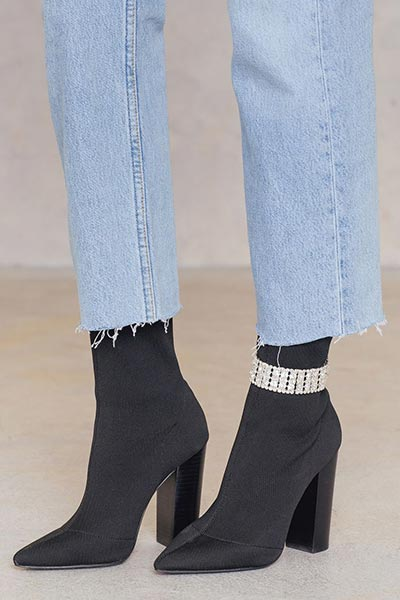 Best Silver and Gold Anklets/ Ankle Bracelets: Anklets over Boots