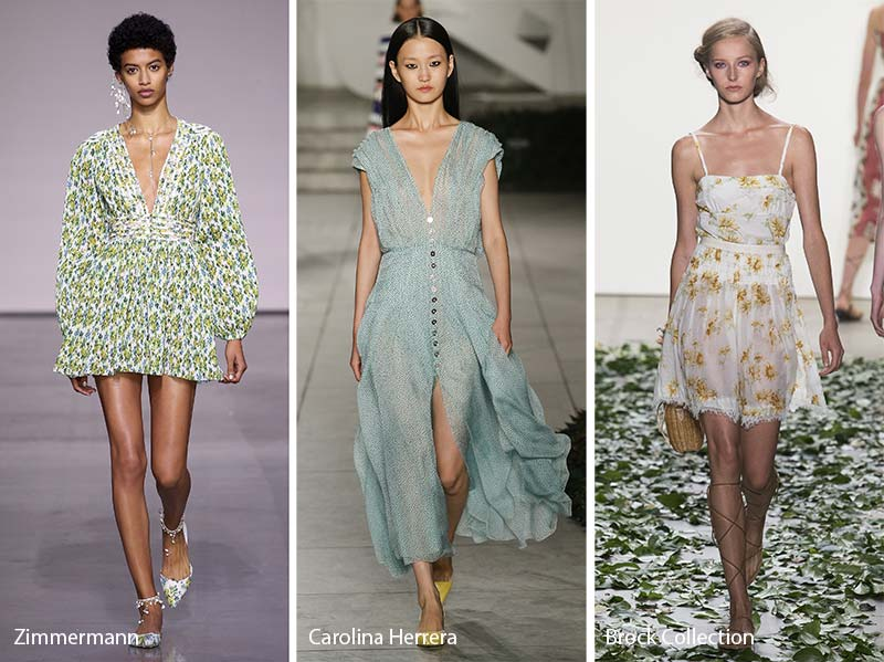 Spring Summer 2018 Fashion Trends Dresses