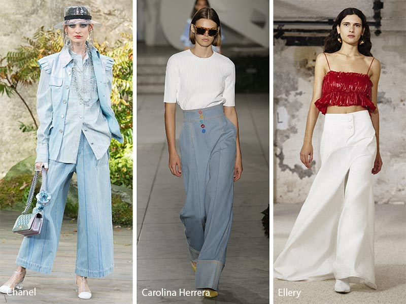 Spring/ Summer 2018 Fashion Trends: Wide-Leg Flared Pants