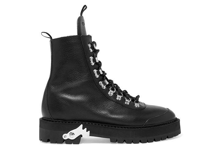 Best Combat Boots for Women: Off-White Military Boots