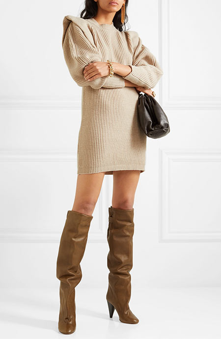 Best Sweater Dresses: Isabel Marant Beatsy Knit Dress