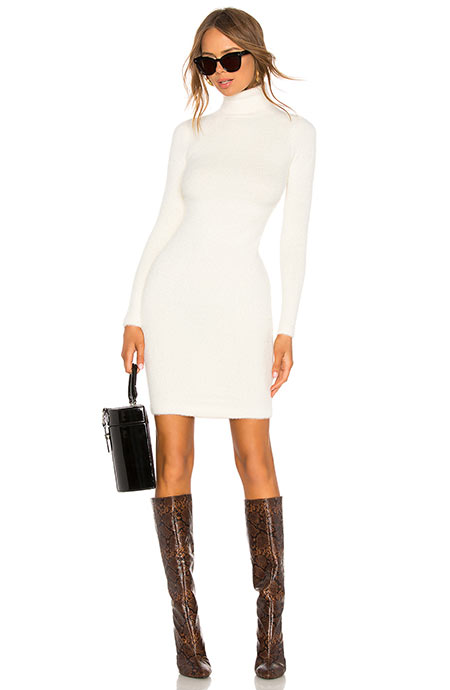 Best Sweater Dresses: LPA Surrey Knit Dress