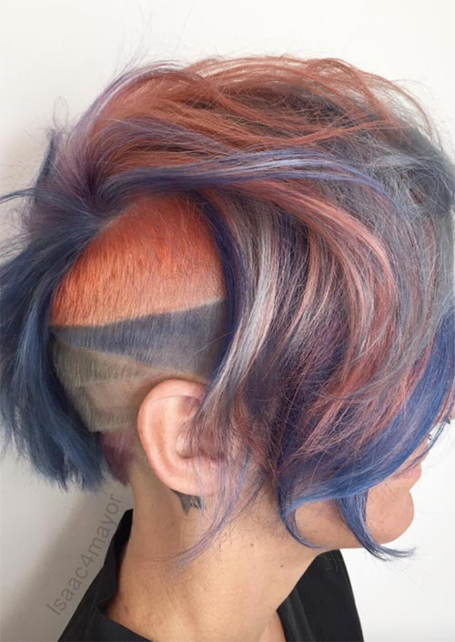 Origins of Undercut Hairstyles/ Haircuts