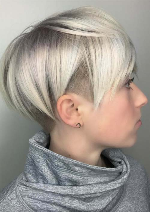 Short Undercut Hairstyles for Women Undercuts for Women