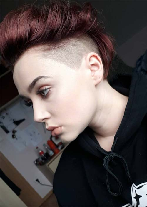 Short Undercut Hairstyles for Women: Undercuts for Women