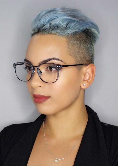 51 Edgy and Rad Short Undercut Hairstyles for Women , Glowsly