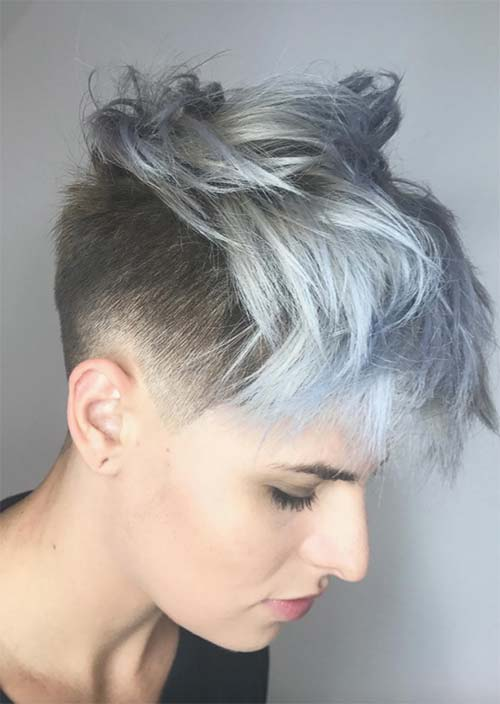 51 Edgy And Rad Short Undercut Hairstyles For Women Glowsly
