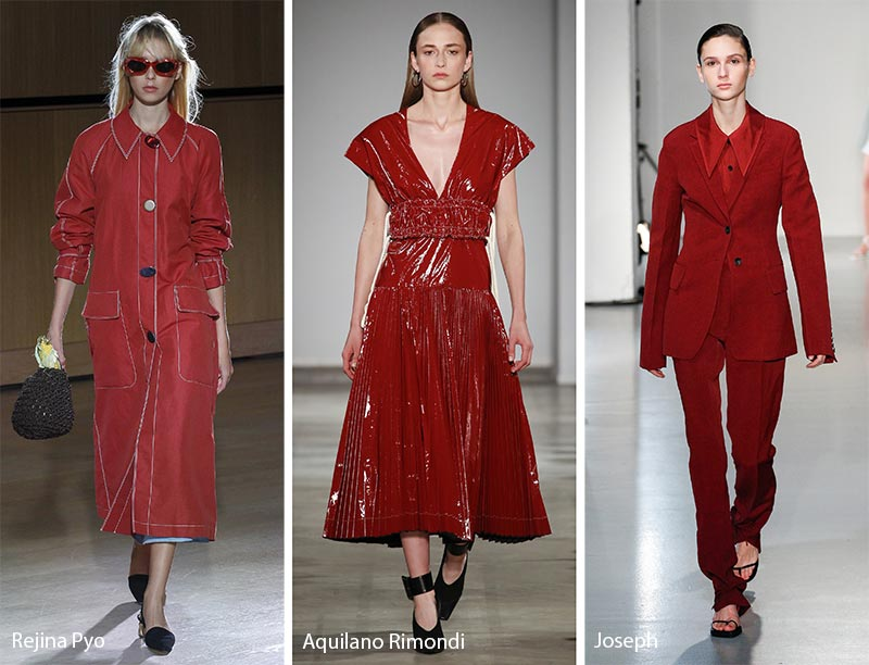 Spring/ Summer 2018 Color Trends: Chili Oil