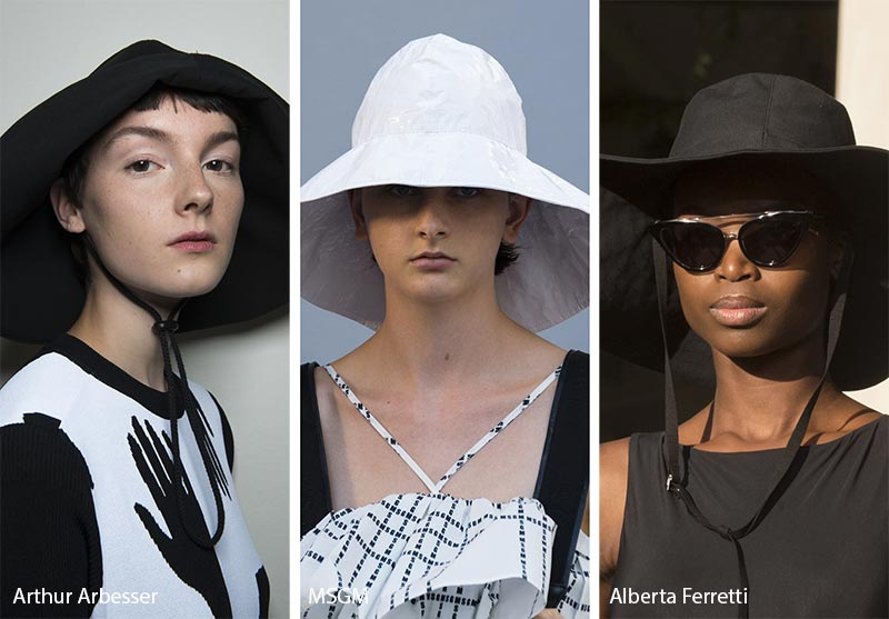 Spring/ Summer 2018 Hat Trends: Fisherman Hats/ Rain Hats