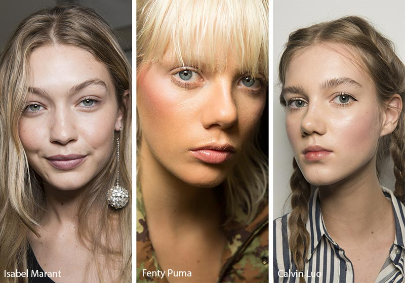 Spring/ Summer 2018 Makeup Trends: Bronzer/ Blush Contouring