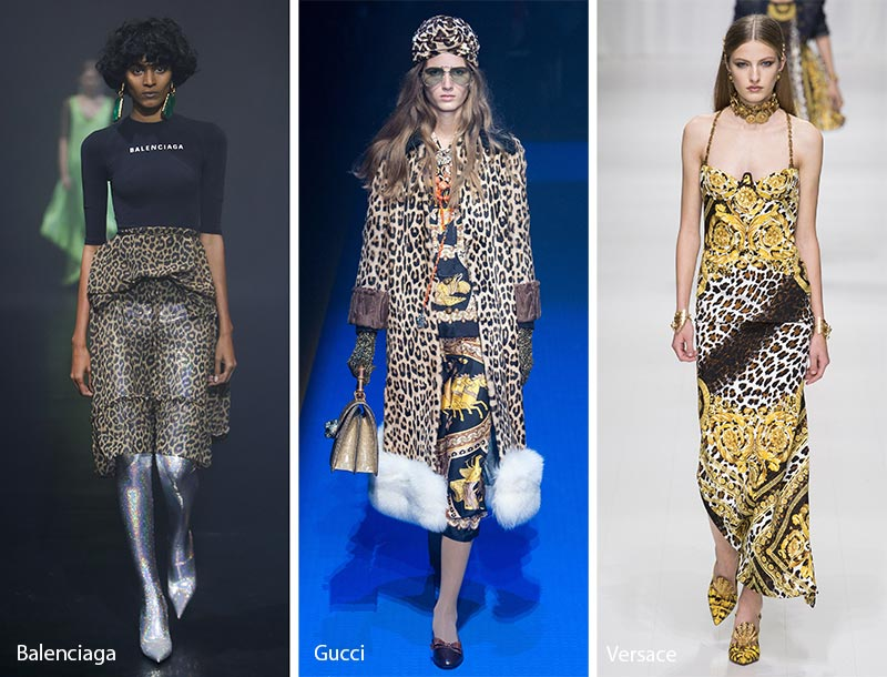 Spring/ Summer 2018 Print Trends: Animal Patterns