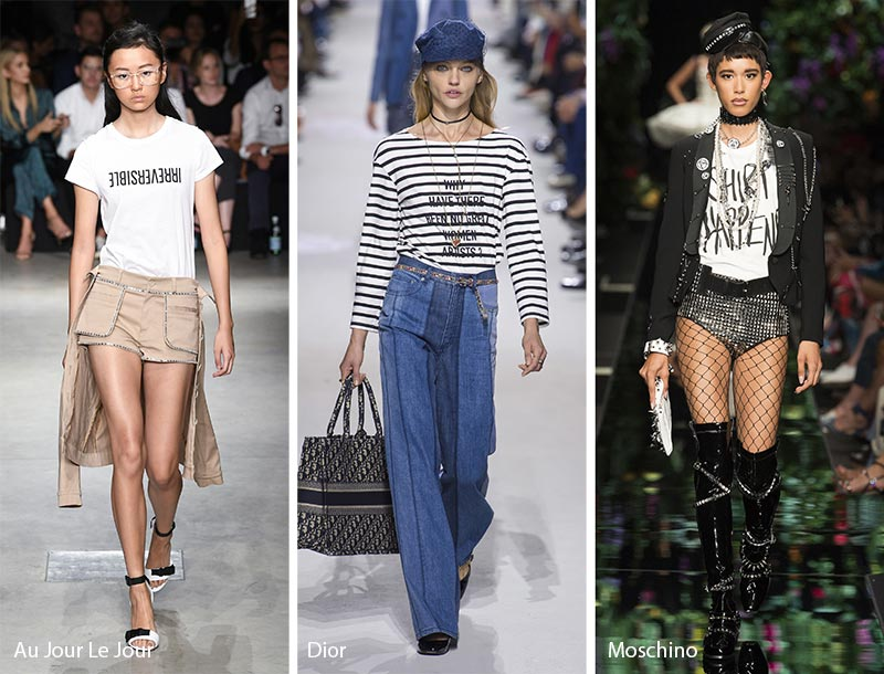 Spring/ Summer 2018 Print Trends: Slogan Patterns