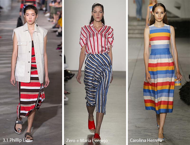 Spring/ Summer 2018 Print Trends: Stripes Patterns