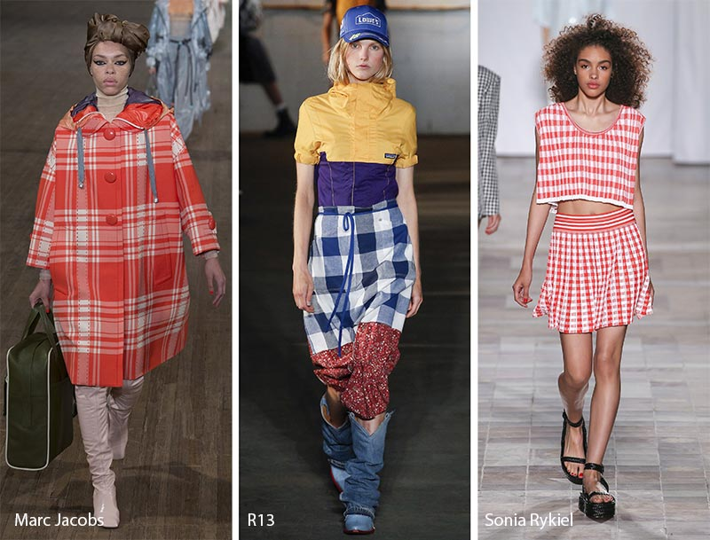 Spring/ Summer 2018 Print Trends: Tartan, Plaid, Check Patterns