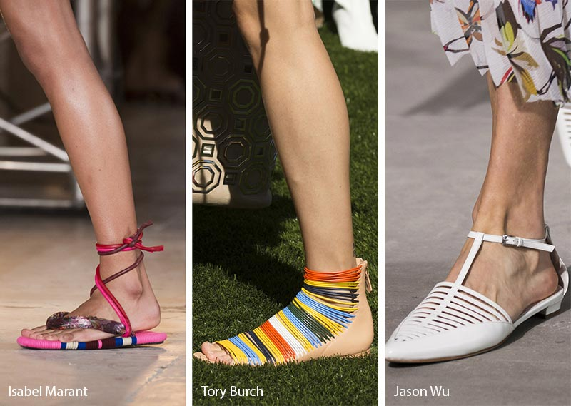 Spring/ Summer 2018 Shoe Trends: Strappy Flats