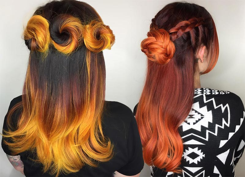 Autumn/ Fall Hair Colors, Ideas and Trends