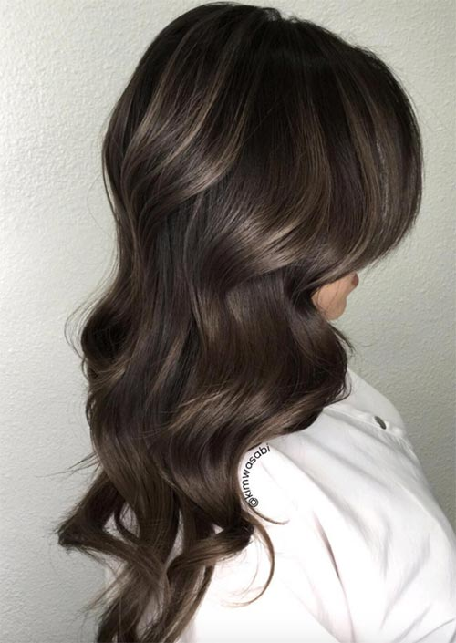 Autumn/ Fall Hair Colors, Ideas and Trends: Ash Brown Hair