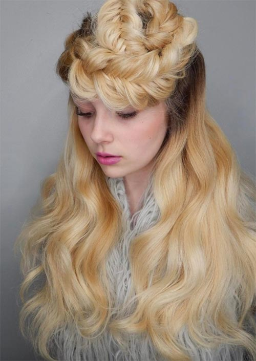 Autumn/ Fall Hair Colors, Ideas and Trends: Butter Blonde Hair