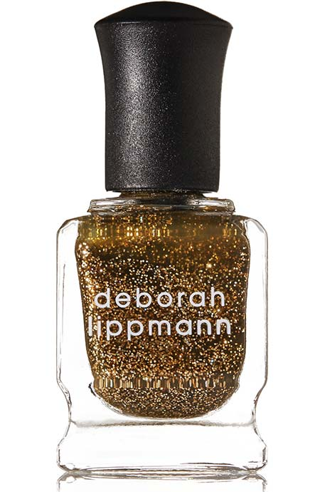 Best Sparkly/ Glitter Nail Polishes: Deborah Lippmann Glitter Nail Polish in Can't Be Tamed