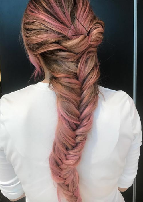 Creative Exposed Bobby Pin Hairstyles Ideas