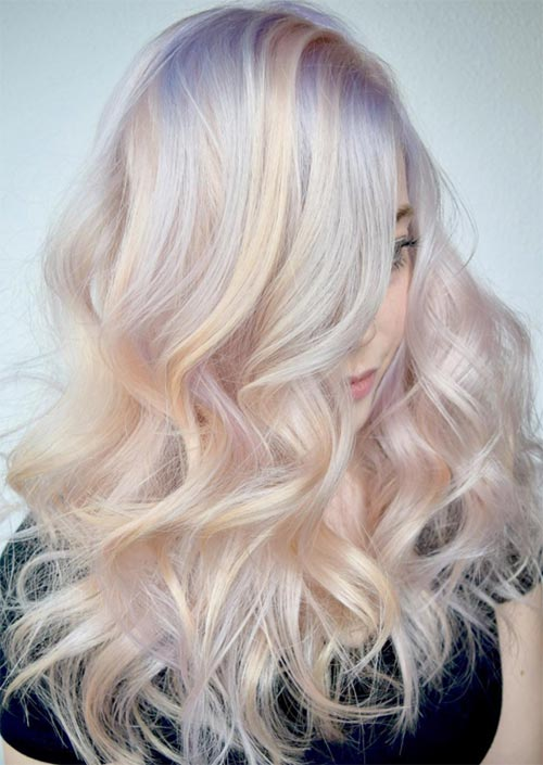 How to Choose and Maintain Winter Hair Colors
