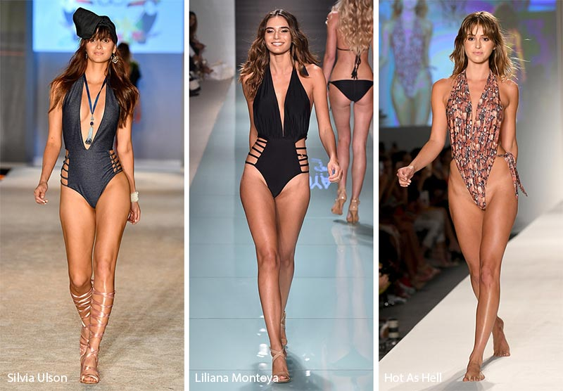 f9cf0da344 Spring  Summer 2018 Swimwear Trends  Sexy One Pieces