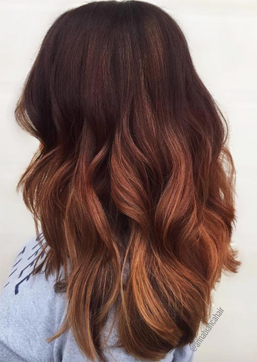 53 Hottest Fall Hair Colors To Try in 2019: Trends, Ideas & Tips ...