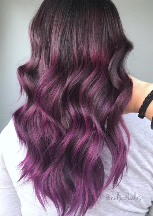 How To Dye Your Hair Purple