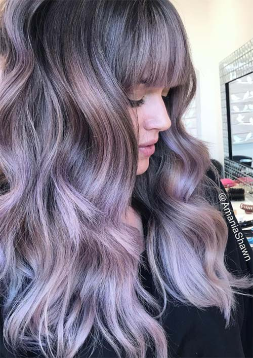 53 Coolest Winter Hair Colors To Embrace In 2018 Glowsly
