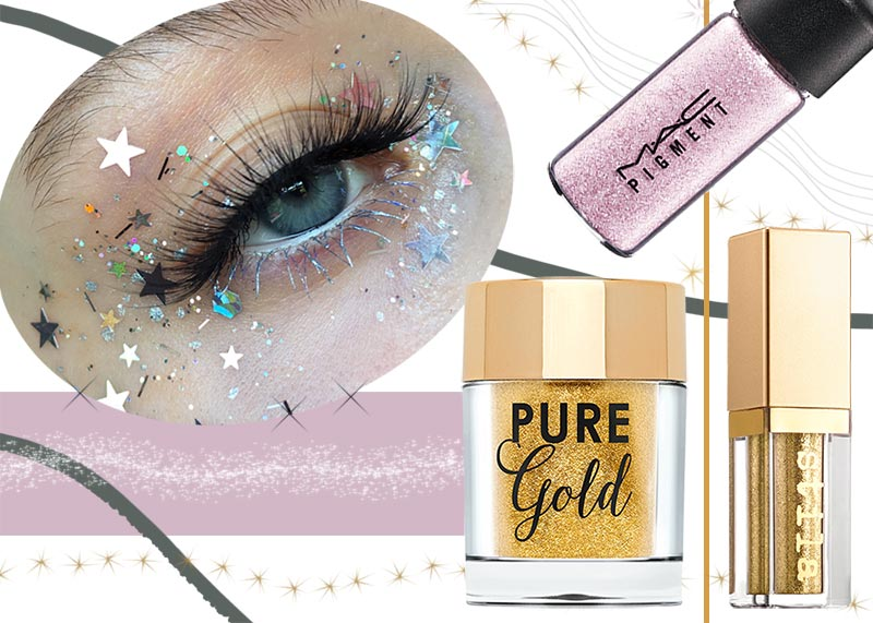 How to Apply Glitter Eyeshadow: Best Glitter Eyeshadows to Sparkle
