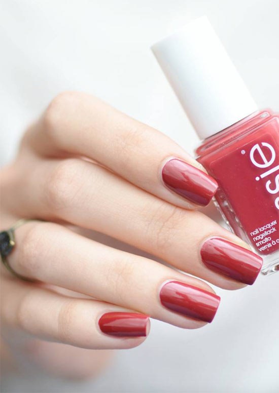 How to Remove Red Nail Polish Stains from Fingers