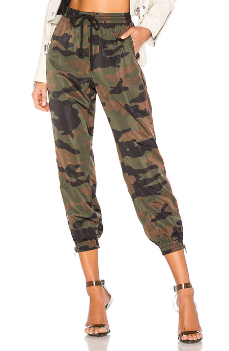 Best Sweatpants/ Track Pants for Women: Pam & Gela Camo Joggers for Women