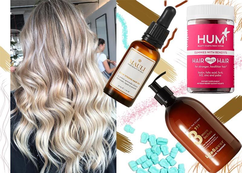 Best Hair Growth Products Vitamins Supplements To Get Longer Hair