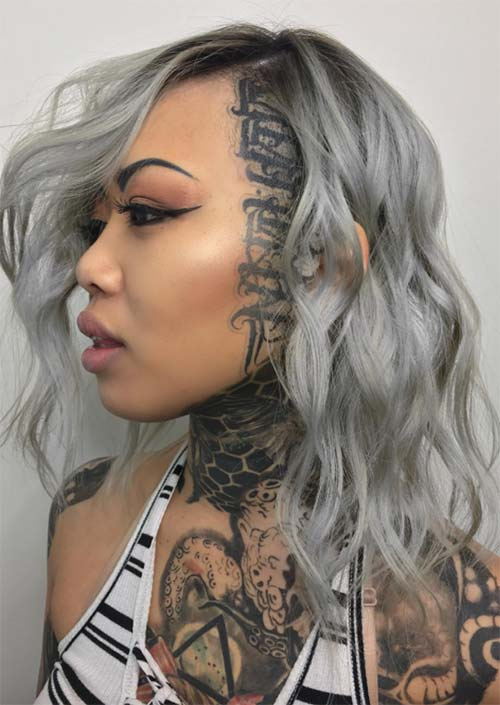 51 Long Undercut Hairstyles for Women in 2020: DIY Undercut Hair