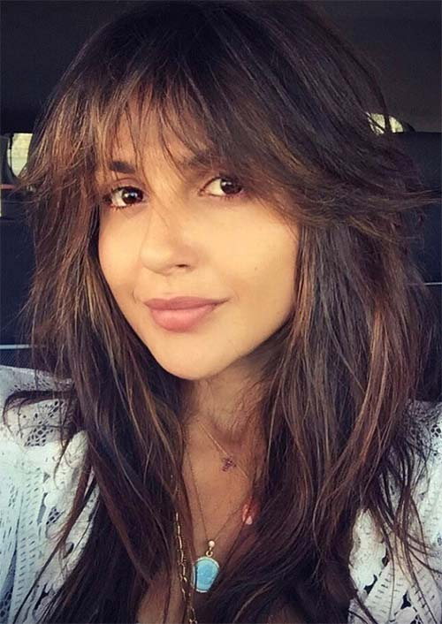 Long Haircuts with Bangs for Women: Long Fringe Hairstyles