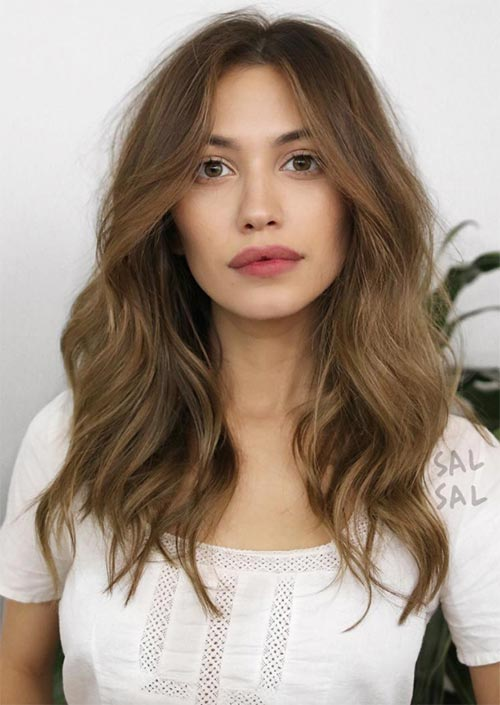 Mid-Length/ Medium Length Hairstyles & Haircuts for Women