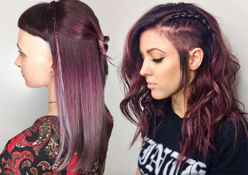 51 Long Undercut Hairstyles for Women In 2019: DIY ...