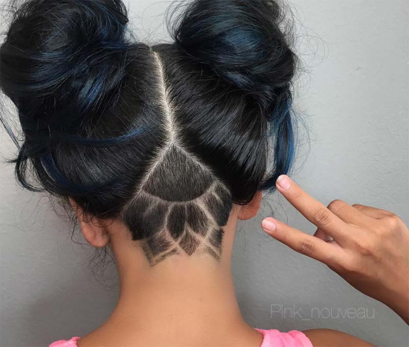 51 Long Undercut Hairstyles For Women In 2018 Diy Undercut Hair