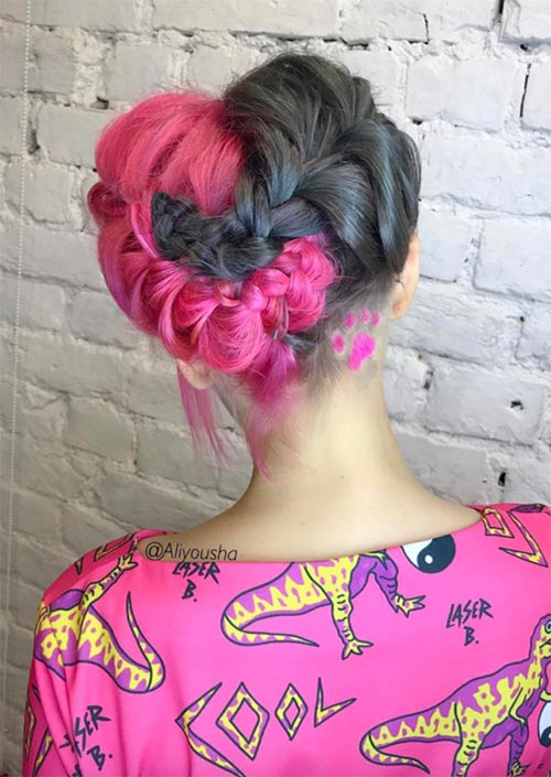 51 Long Undercut Hairstyles for Women In 2019: DIY Undercut Hair