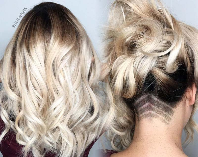 51 Long Undercut Hairstyles For Women In 2019: DIY