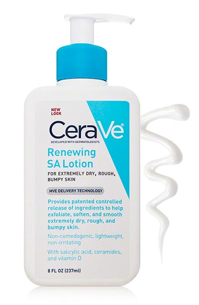 Best BHA/ Salicylic Acid Products for Skin Care: CeraVe SA Renewing Lotion