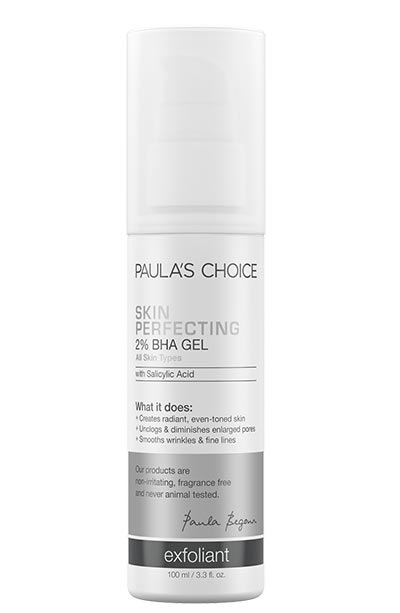Best BHA/ Salicylic Acid Products for Skin Care: Paula's Choice 2% BHA Skin Perfecting Gel Exfoliant