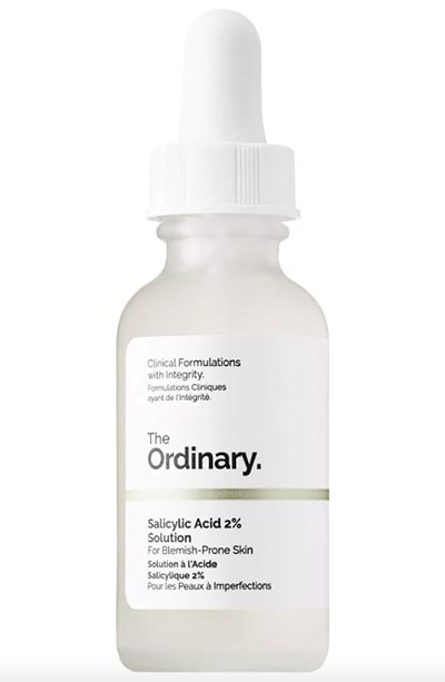Best BHA/ Salicylic Acid Products for Skin Care: The Ordinary Salicylic Acid 2% Solution