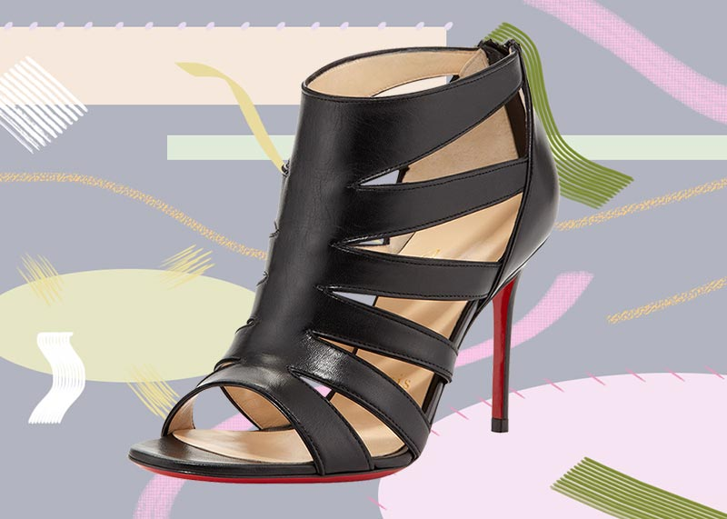 Best Christian Louboutin Shoes of All Time: Christian Louboutin BeautyK Sandal Booty