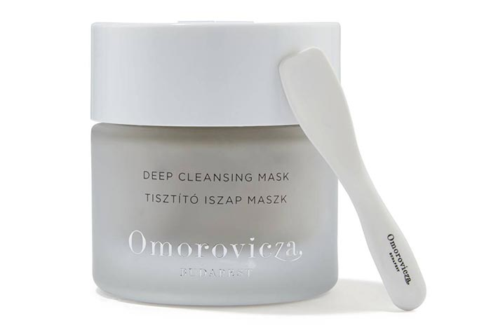 Best Clay Masks for Blackheads: Omorovicza Deep Cleansing Mask