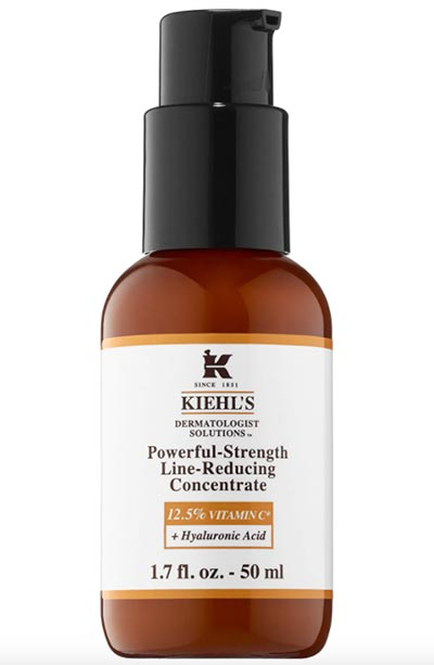 Best Vitamin C Serums, Moisturizers & Other Skincare Products: Kiehl's Since 1851 Powerful-Strength Line-Reducing Concentrate 12.5% Vitamin C