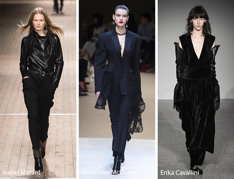 Fall/ Winter 2018-2019 Color Trends: Black